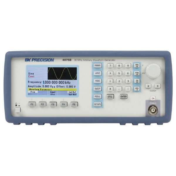 4075B系列,30MHz~80MHz 任意波/函數波形產生器(Arbitrary/Function Waveform Generators)
