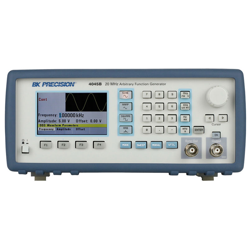20MHz 直接數位合成函數波產生器含任意波形功能(DDS Sweep Function Generator with Arbitrary Function)